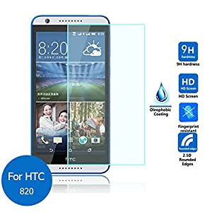 HTC Desire 820 Premium HD Tempered Glass 9H 0.3mm 2.5D Edge Screen Protector Trenzo