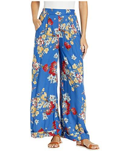 Angie Women's Wide Leg Cuff Pants w/Pockets - Wide Leg Cuff Hose