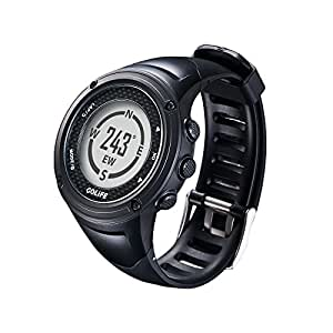 GOLiFE GoWatch X-PRO Smart Sports Watch - 11 Hour GPS, 5 ATM, 6-axis G-sensor,e-Compass, Barometer, Altimeter, Thermometer - Bluetooth, Sync Data to Phone or Cloud Server - Scratch Resistant Glass & Strap (TPU) - Call Alerts, Direct Display of SMS & Social Media Message - Interval Training, Social Media Sharing - Time Distance Alerts, Virtual Trainer