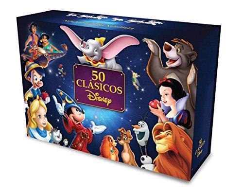 50-Clasicos-Disney-DVD-Region-4-50-Peliculas
