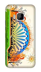 WOW 3D Printed Designer Mobile Case Back Cover For HTC One M9 / HTC M9 / HTC 1 M9