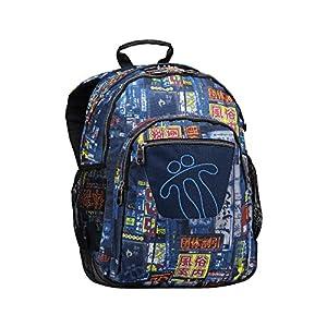 514UNTeMNmL. SS300  - Totto MA04ECO029-1810N-6LI Morral Crayoles Mochila Infantil, 44 cm, Multicolor