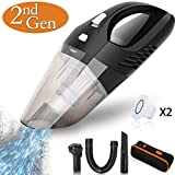 Handheld Vacuums Cordless Car Vacuum Cleaner 2500mAH Rechargeable Battery Lightweight Wet Dry Vacuum