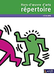 Hors d'oeuvre d'arts répertoire + DVD-Rom