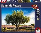 Schmidt Spiele Puzzle 58357 Olivenbaum in der Provence, 1000 Teile Puzzle, bunt