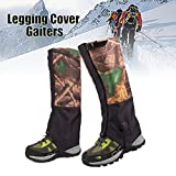 Global Brands Online 1 Pair Camouflage Waterproof Outdoor Climbing Hiking Snow Gaiters Leg Cover Boot Legging Wrap