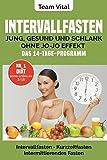 Intervallfasten: jung, gesund und schlank ohne Jo-Jo Effekt | Das 14-Tage-Programm: Intermittierendes Fasten, Kurzzeitfasten ( der neue US-Trend - stellen Sie Ihre innere Uhr auf schlank)