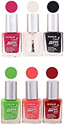 Aroma Care Juicy Nail Polish, Multicoloured, 9 ml (Pack of 6)