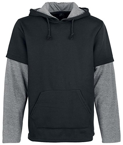 Forplay Two in One Sleeve Hoody Felpa con cappuccio nero M