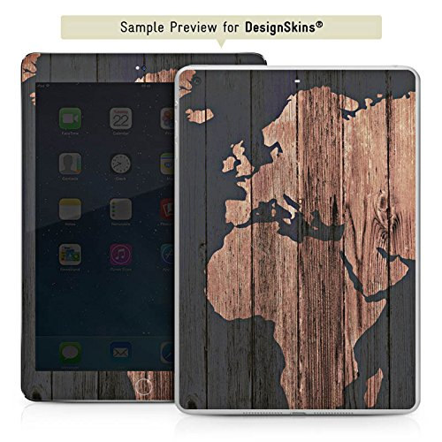 apple-ipad-mini-4-adhesive-protective-film-design-sticker-skin-world-map-wood-earth