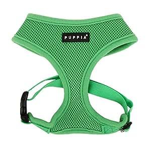 Puppia PDCF-AC30 Hundegeschirr Soft, L, grün