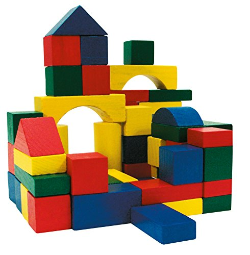Marionette - Construction bricks, wooden blocks 100 pieces