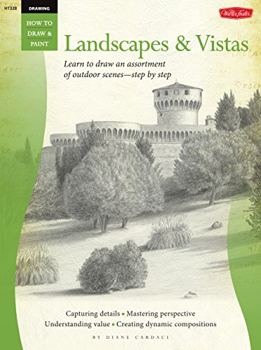Drawing: Landscapes: Learn to draw an assortment of outdoor scenes―step by step (How to Draw & Paint) por Diane Cardaci