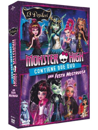Monster High Dvd 13 (Monster High - 13 desideri & Una festa mostruosa [2 DVDs] [IT Import])