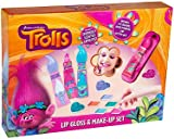 DreamWorks Trolls Lip Gloss & Make-Up Set