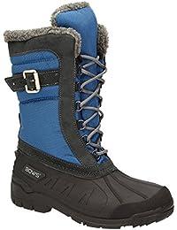 BOWS Susi- Winterstiefel Damen Schnee Stiefel Snow Schuhe Winterboots Warm Gefüttert Wasserdicht Wasserabweisend