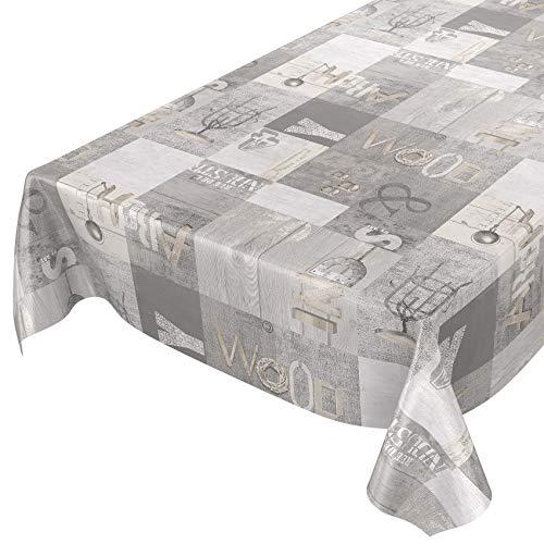 Tovaglia in tela cerata, lavabile, industry style, asciugamani, sättige, beständige farben, 200 x 140 cm