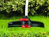 Black+Decker Elektro-Motorsense (800W, mit E-Drive Technologie, Kantenschnittfunktion, 6 Hochleistungsfäden) GL8033, schwarz orange - 15