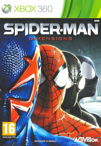 SPIDERMAN SHATTERED DIMENSIONS XBOX 360