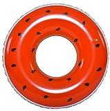 Jilong Watermelon Ring - XXL Schwimmring, Poolsessel im Style einer Wassermelone, aufblasbare Wassermatratze ø110x30 cm, Luftmatratze für Pool oder Meer, Schwimmsessel