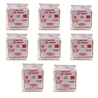 CONCORD Napkin - CC 30 x 27 - 100 Pulls (Pack of 8)
