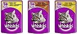 Whiskas 1+ Katzenfutter Geflügelauswahl in Sauce, 84 Beutel (84 x 100 g) - 2