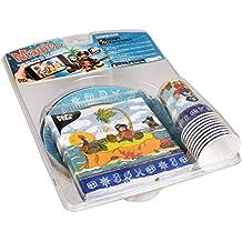 Papstar 86095Pack de Fête, frais fibre de carton et Tissue Multicolore