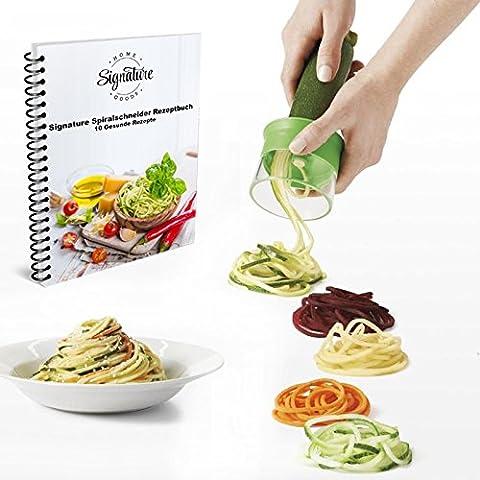 Best Vegetable Spiralizer - Heavy Duty Kitchen Spiralizer for Vegetable