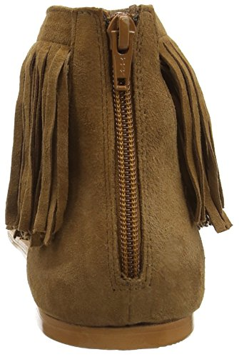 Vero Moda Vmkate Leather Sandal, Tongs femme Marron - Marron (Cognac)