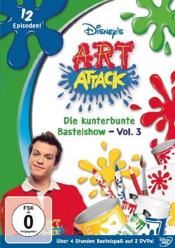 Die kunterbunte Bastelshow, Vol. 3 (2 DVDs)