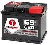 Autobatterie 65Ah 620A +30% mehr Leistung Starterbatterie ersetzt 60Ah 55Ah 60Ah 62Ah 63Ah