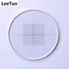 Lepakshi Leetun Div 0.05 Mm Eyepiece Micrometer for Microscope Ocular Reticle Grid Net Measuring Cro