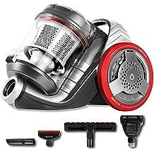 Cecotec Aspirador trineo Conga EcoExtreme 3000. Aspirador sin bolsas. 3AAA. Multiciclónico. Silencioso. 5 accesorios con Airbrush. Máxima potencia. Modos ECO/TURBO. 3'5 L. Filtro HEPA.