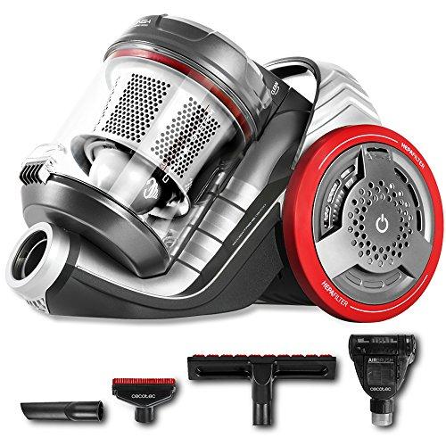 Cecotec Aspirador Trineo Conga EcoExtreme 3000. Ultra Silencioso, Máxima Potencia, Mínimo Consumo, Capacidad de 3,5 l, Filtro HEPA, Ligero y Manejable