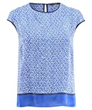 windsor Damen Bluse Kurzarm Multicolor (90) 40