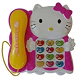 #10: Akshata Kitty Kids Toy Phone - Musical Mobile Telephone for Children and Babies