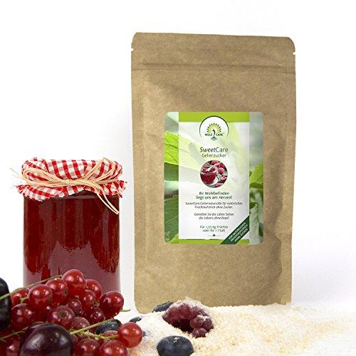 Natürliche Zucker Ersatz (SweetCare Zucker Gelier, der Zuckerersatz mit Erythritol und Stevia die natürliche Alternative zu Gelierzucker)