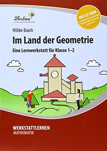 Im Land der Geometrie (Set): Grundschule, Mathematik, Klasse 1-2 - Kopiervorlagen, Schnellhefter, mit CD-ROM