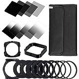 ZOMEI Filtri Quadrati Set per Cokin P Series Pro SLR Fotocamera DSLR ND filtro a densità neutra