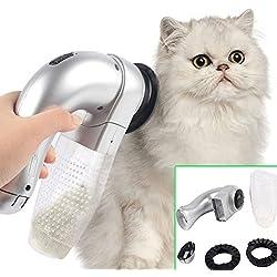 Tookie - Brosse électrique à nettoyer les poils pour animaux domestiques, Aspirateur pour Chien et Chat - Outil de Toilettage