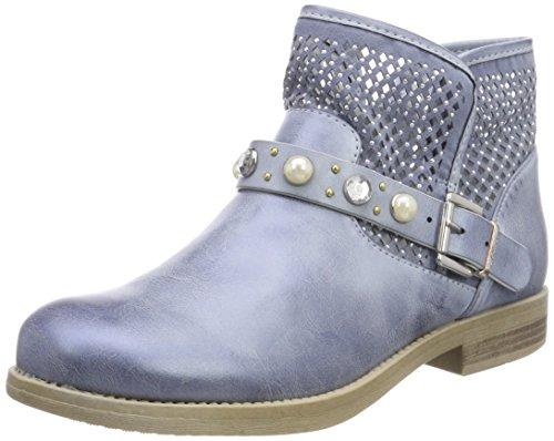 s.Oliver Damen 25305 Biker Boots, blau (denim), 40 EU