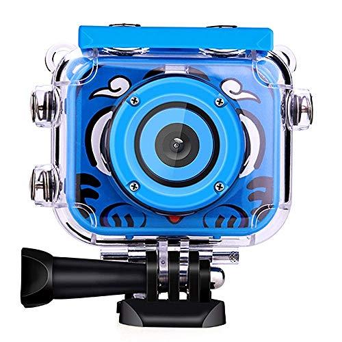 QYWSJ Kamera für Kinder, Jungen Mädchen 1080P HD Digitalkamera, Wiederaufladbare Action-Kamera Unterwasservideokamera, bruchsicherer staubdichter wasserdichter Action-HD-Camcorder (Canons 12-megapixel-kamera)