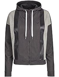 Hummel Mia chaqueta con cremallera Gris gris oscuro Talla:extra-large
