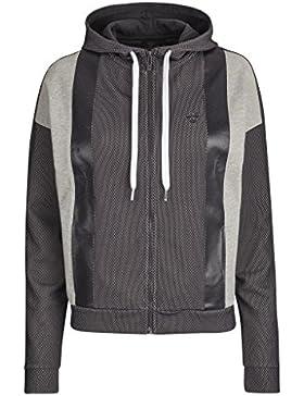 Hummel Mia chaqueta con cremallera Gris gris oscuro Talla:large