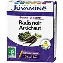 Juvamine Black Radish Artichoke 10 Phials by Juvamine