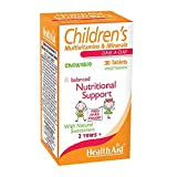 HealthAid Children's MultiVitamins and Minerals - 30 Chewable Tablets