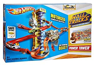 Hot Wheels Wall Tracks Power Tower Trackset With Mounted Track Play System - To Increase The Fun Jouets, Jeux, Enfant, Peu, Nourrisson