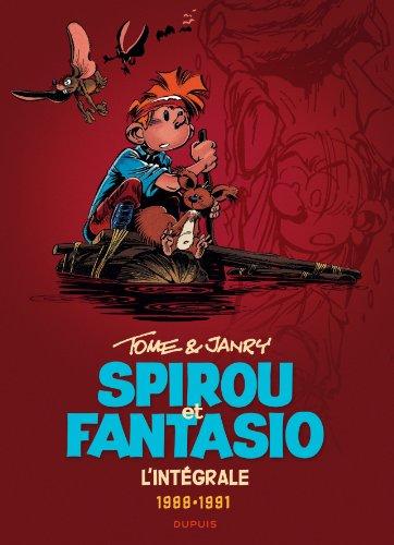 Spirou et Fantasio - L'intégrale - tome 15 - Spirou et Fantasio 15 (intégrale) Tome & Janry 1988-1991