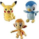 Pokemon t18035C6Trainer Wahl Plüsch Spielzeug, 20,3cm (Model Sortiert)