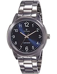 Titan Neo Analog Blue Dial Men's Watch-NJ1585SM05C